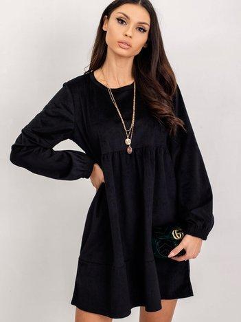 RUE PARIS Czarna sukienka Viance