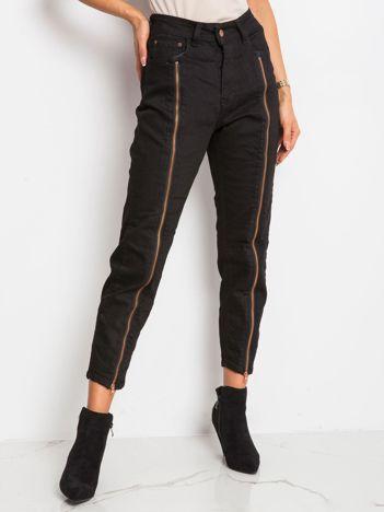 RUE PARIS Czarne spodnie Harlow