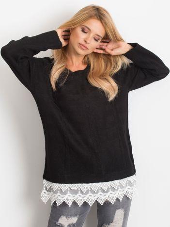 RUE PARIS Czarny sweter World