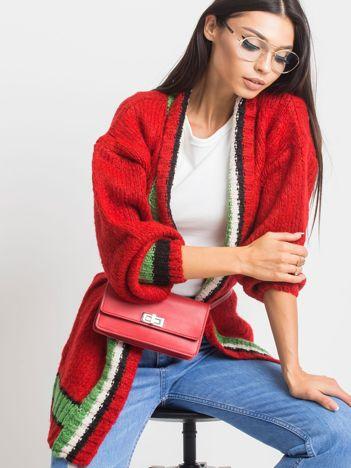 RUE PARIS Czerwony sweter Lavish