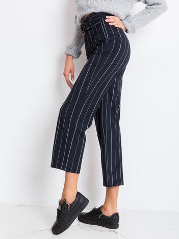 RUE PARIS Granatowe spodnie Guessing