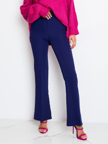 RUE PARIS Kobaltowe spodnie Call