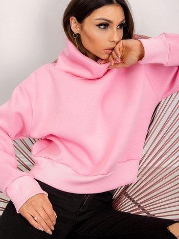 RUE PARIS Różowa bluza Charm