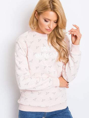 RUE PARIS Różowa bluza Savannah