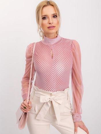 RUE PARIS Różowa bluzka Mave