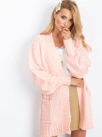 RUE PARIS Różowy sweter Belize