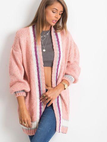 RUE PARIS Różowy sweter Lavish