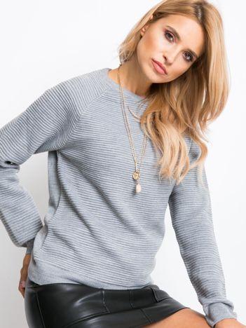 RUE PARIS Szary sweter Aria