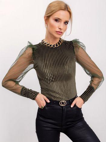 RUE PARIS Zielona bluzka Ally