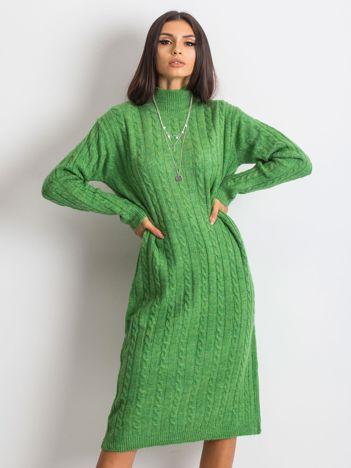 RUE PARIS Zielona sukienka Evermore
