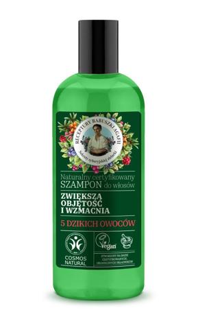"""Receptury Babuszki Agafii Naturalny Szampon wzmacniający i nadający objętość 260ml"""""""