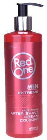 RedOne AFTER SHAVE CREAM COLOGNE EXTREME WODA KOLOŃSKA W KREMIE 400 ML