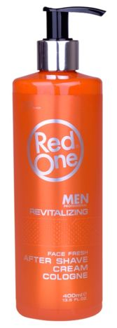 RedOne AFTER SHAVE CREAM COLOGNE REVITALIZING WODA KOLOŃSKA W KREMIE 400 ML
