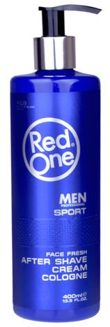 RedOne AFTER SHAVE CREAM COLOGNE SPORT WODA KOLOŃSKA W KREMIE 400 ML