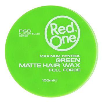 RedOne MATTE HAIR WAX GREEN WOSK MATOWY 150 ML