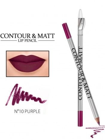 Revers Kredka do ust z temperówką CONTOUR & MATT nr 10 purple 2g
