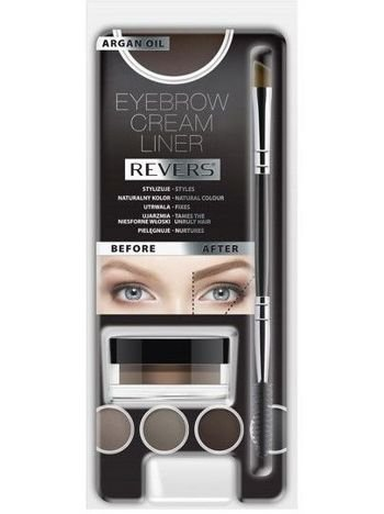 Revers Kremowy Liner do brwi EYEBROW CREAM LINER Taupe 8 ml