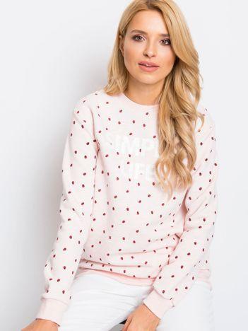 Różowa bluza Saige