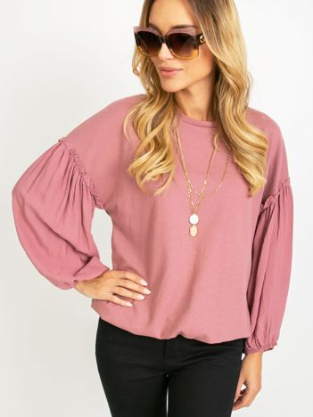 Różowa bluzka Lisbon