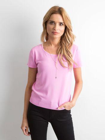 Różowa bluzka Seva