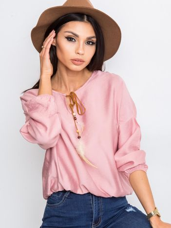 Różowa bluzka Several