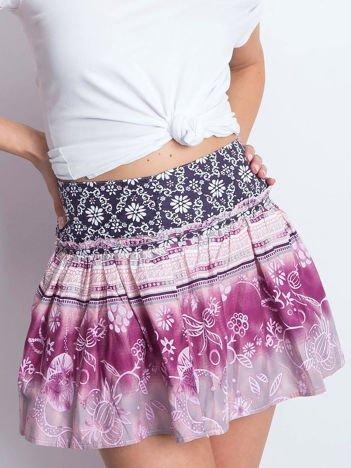 Różowa spódnica Unstructured