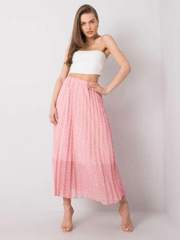 Różowa spódnica plisowana Beatriz SUBLEVEL