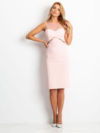 Różowa sukienka Vibes