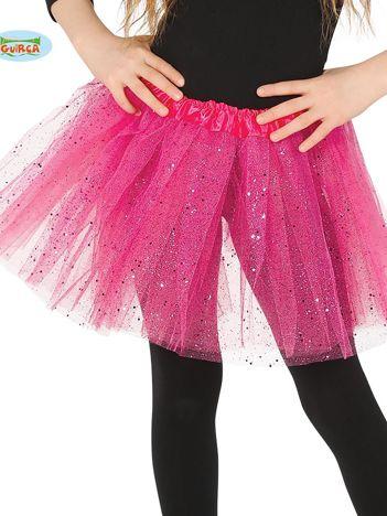 Różowa tiulowa spódnica dla dziewczynki