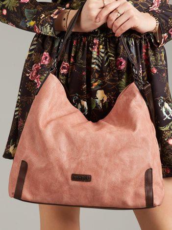 Różowa torba na ramię