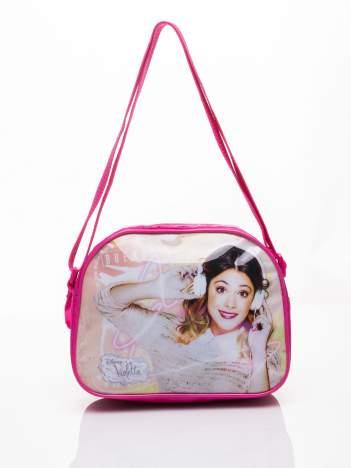 Różowa torba szkolna DISNEY Violetta