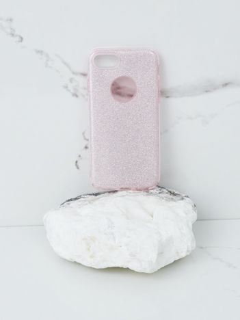 Różowe etui brokatowe do iPhone 7G/8G