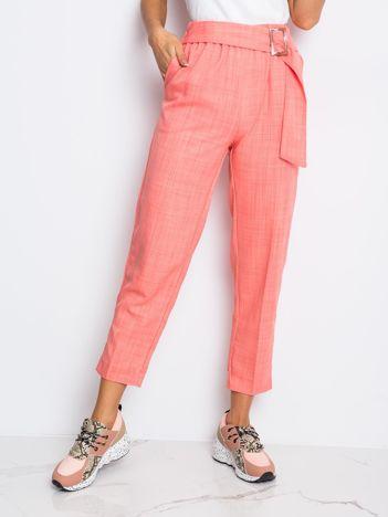Różowe spodnie Honey