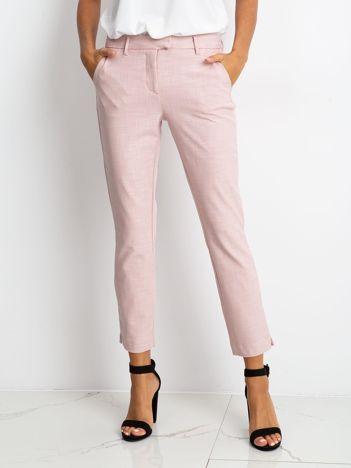 Różowe spodnie Wave