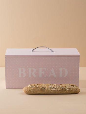 Różowy pojemnik na chleb