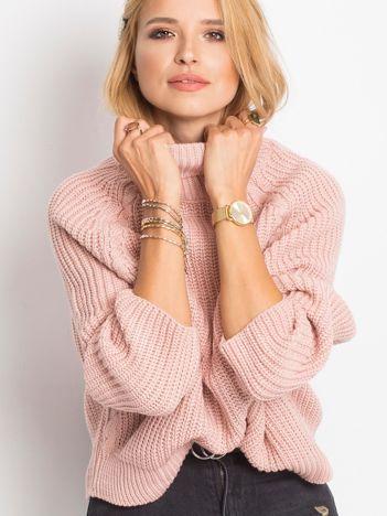 Różowy sweter Darling