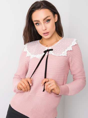 Różowy sweter Josefina