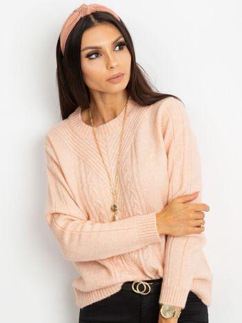 Różowy sweter Marion