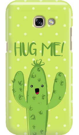 SAMSUNG A3 2017 CACTUS HUG ME