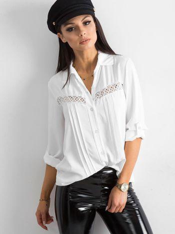 SCANDEZZA Biała koszula