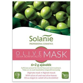 SOLANIE Profesjonalna alginatowa maseczka peel-off z oliwą z oliwek (6+2g)