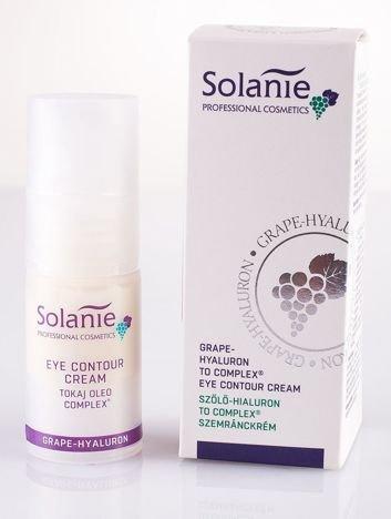 SOLANIE Profesjonalny krem pod oczy z kwasem hialuronowym i kompleksem TO® 15 ml