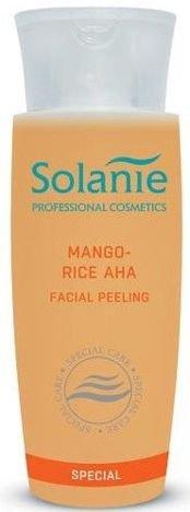 SOLANIE Profesjonalny peeling do twarzy Mango - Ryż z kwasami AHA 150 ml