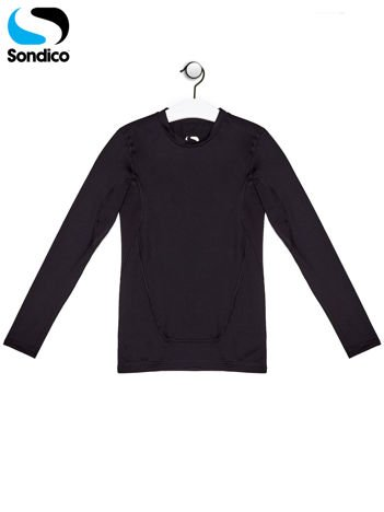 SONDICO Czarna bluzka chłopięca