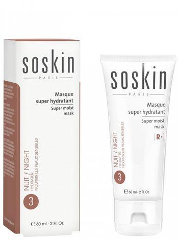 SOSKIN SUPER MOIST MASK Supernawilżająca maska 60 ml