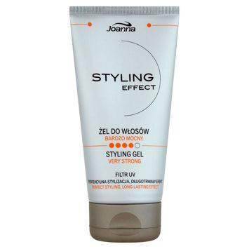 STYLING effect  Żel do układania włosów bardzo mocny 150g