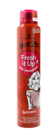 Schwarzkopf Got 2b Fresh It Up Suchy szampon do włosów Brown  200ml""