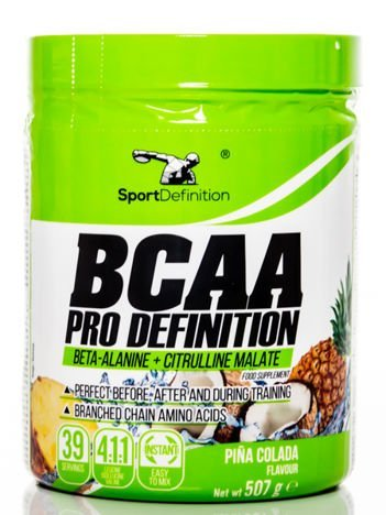 Sport Definition - Aminokwasy BCAA Pro Definition Pina Colada 507g