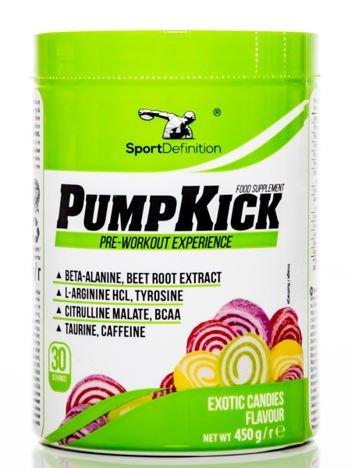 Sport Definition - Przedtreningówka Pump Kick - 465g Exotic Candies