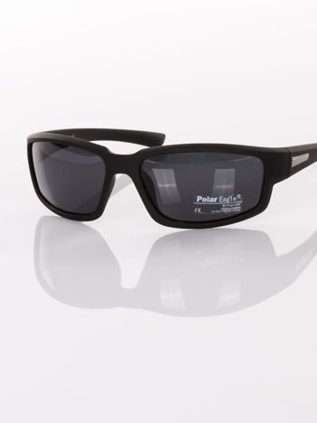Sportowe POLARYZACYJNE  męskie okulary przeciwsłoneczne - antypoślizgowa oprawka  +GRATISY